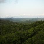 沖縄の山並み