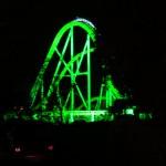 夜のジェットコースター